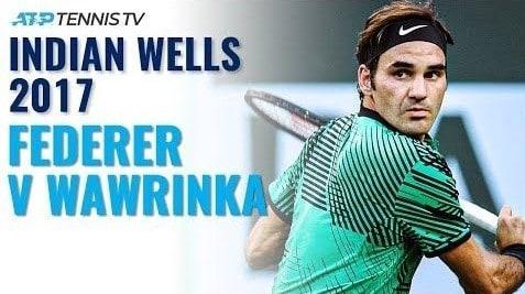 Highlight Federer Wawrinka 2017