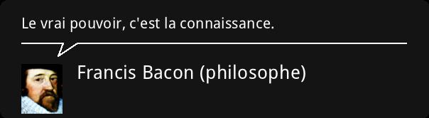 Citation Francis Bacon